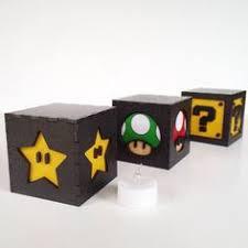 Mario Bros Question Block Lamp by Super Mario Block Light Nintendo Baby Nursery Gaming And Video