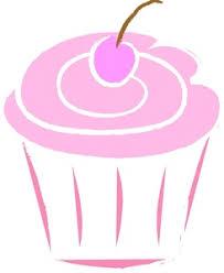 Cupcake Clipart Image Pink Cupcake