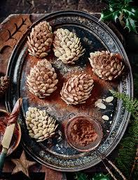 Christmas Tree Meringues Sainsburys by Chocolate Pine Cone Cakes Recipe Sainsbury U0027s Magazine