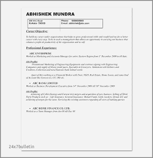 Gallery Of Resume For Marketing Manager Elegant Objective Examples Minimalist 0d
