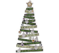 Qvc Christmas Tree Storage Bag by Judith Ripka Sterling Christmas Tree Pin Enhancer U2014 Qvc Com