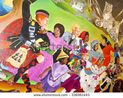 Denver International Airport Murals Pictures by Denver International Airport Stock Images Royalty Free Images