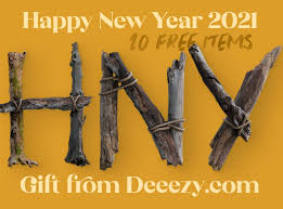 Items Where Year Is 2021 Happy New Year 2021 Free Gift Bundle By Cruzinedesign On