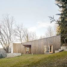100 Prefab Architecture Marc Mogas Slots Prefab Summer Home Into Wooded Slope In The Pyrenees