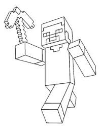 Cartoons Minecraft Parent Directory Coloring Pages Htm
