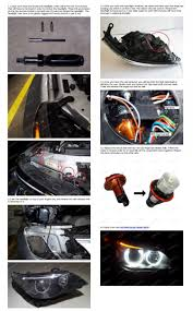 how to install bmw e60 5 series led visual ly