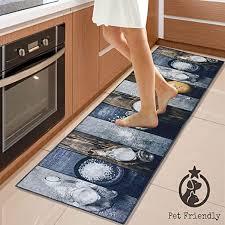 teppiche küchenteppich läufer flur küche waschbar rutschfest