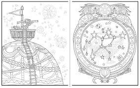 Amazon Introvert Dreams A Coloring Book Journey 9780993952739 Andre Solo Jenn Granneman Maxeem Konrardy Books