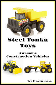 Tonka Classic Steel Dump Truck Vehicle - Toy-Treasures