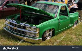 100 Body Dropped Trucks 90 S Model Chevrolet Truck Dropped Ground Stock Photo Edit Now