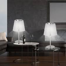 2er set tischleuchte wohnzimmer esszimmer flur flurle leuchtmittel leuchte 1001 1t 2er