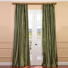 Sears Canada Sheer Curtains by Green Silk Curtains Half Price Drapes