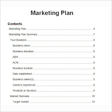Sample Sales Plan Pdf