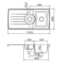 Schock Sinks Cleaning Products by Schock Focus Fco D 150 Magma Granite Sink Kitchen Sinks U0026 Taps