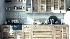 porte de cuisine facade meuble cuisine bois brut meuble cuisine bois brut amazing