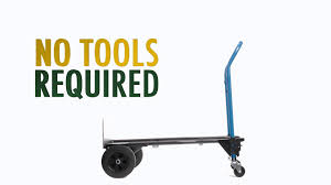 HARPER 3x1 400lb Steel Hand Truck - YouTube