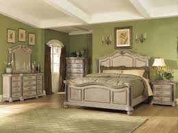 Collezione Europa Bedroom Furniture by White Wash Finish Classic 5pc Bedroom Set W Marble Tops U0026 Posts