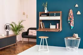 7 idées de bureau mural rabattable pour petits espaces