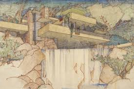 100 Frank Lloyd Wright Sketches For Sale The Unbuilt Visions Of WSJ