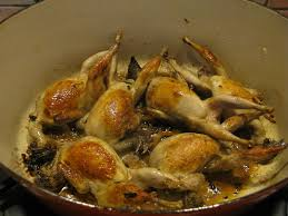 cuisiner des cailles en cocotte cailles aux abricots elisabeth o fourneaux