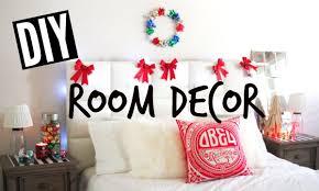 DIY Holiday Room Decor Easy Tumblr Christmas
