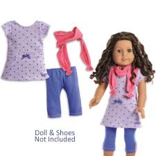 Amazoncom American Girl Truly Me Recess Ready Outfit In Bag No