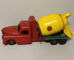 Bargain John's Antiques | Structo Pressed Steel Tin Cement Toy Truck ... 1950s Structo Hydraulic Toy Dump Truck Vintage Light 992 Lot 569 Toys No7 City Of Toyland Pressed Steel Utility Farm White Colored Hard Plastic Lamb Accessory Corvantics Corvair95 Vintage Structo Toys Pressed Steel Truck And Trailer Model Antique Toy Livestock Vintage Metal Toy Wrecker Truck Oilgas Red Good Hilift High Lift Lever Action Blue And Yellow 1967 Turbine 331 Auto Transporter Wcars Ramp Colctibles Signs Gas Oil Soda