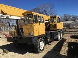 100 Ton Truck 1968 Grove 18 Ton Truck Crane
