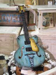 Free Images Rock Music Vintage Antique Retro Texture Old Decoration Pattern Metal Grunge Blue Black Yellow Decor Electric Guitar