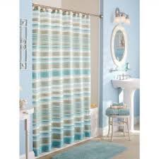 Yellow Gray And Teal Bathroom by Best 25 Fabric Shower Curtains Ideas On Pinterest How Curtains