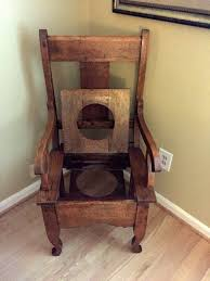 Value Of An Antique/Vintage Potty Chair | ThriftyFun Sussex Chair Old Wooden Rocking With Interesting This Vintage Wood Childs With Brown Rush Seat Antique Child Oak Windsor Cane And Back Rocker Free Stock Photo Freeimagescom 1830s Life Atimeinlife Amazoncom Kid Rustic Kids Indoor Chairs Classic Details That Deliver Virginia House Cherry Folding Foldable
