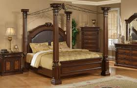 King Bed Frame Walmart by Full Size White Wood Canopy Bed My Master Bedroom Ideas