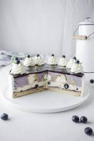 heidelbeer vanille windbeutel torte