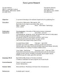 Resume Example For College Student Beautiful Sample Examples