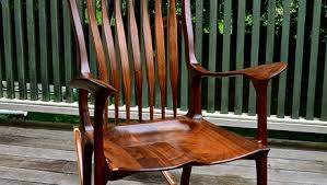 Sam Maloof Rocking Chair Video by Sam Maloof Finewoodworking