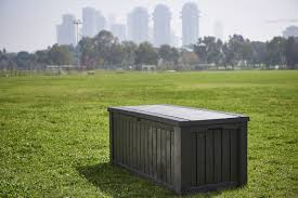 Suncast 50 Gallon Deck Boxstorage Bench by Keter Rockwood 150 Gallon Resin Deck Box U0026 Reviews Wayfair