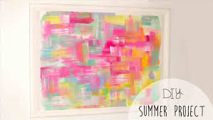 Wall Canvas Art Ideas For Teenagers Diy Youtube Teen Crafts Summer A Little Craft In Your