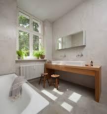 75 graue badezimmer mit waschtisch aus holz ideen bilder