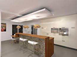 plafond de cuisine faux plafonds modernes photo plafond suspendu cuisine chaios 10 avec