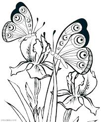 Free Butterfly Coloring Mandala Pages Printable Pictures Page Nature For Kids F Monarch Butterflies Book