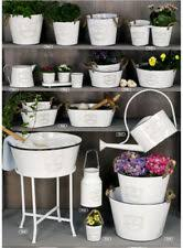 deko blumentöpfe vasen aus metall günstig kaufen ebay