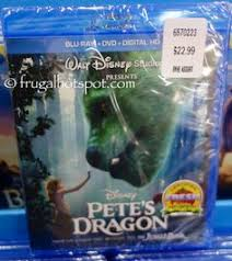 Disney Petes Dragon Blu Ray DVD Digital HD Costco FrugalHotspot