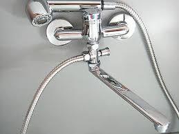 wandarmatur mit umsteller armatur für küche badewanne