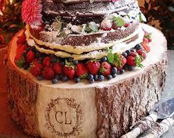 Monogram Cake Stand
