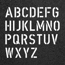 Free Letter Stencil Clipart Clipart Collection 1 Inch Stencil
