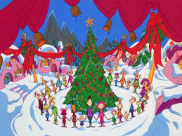 The Grinch Christmas Tree Decorations by Whoville Christmas Tree Cartoon Decorating Ideas