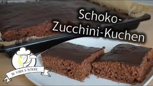 thermomix schoko zucchini kuchen saftig