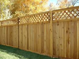menards privacy wood fence with lattice the ashton vinyl