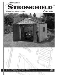 Keter Stronghold Shed Assembly by Instructions Pages 1 46 Text Version Fliphtml5