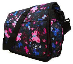 new girls womens chervi butterfly college laptop satchel